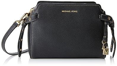 Michael kors lenox besaces femme noir black cm w x