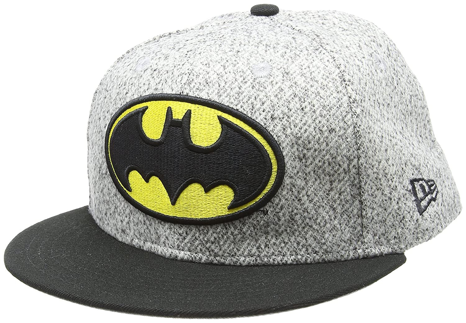 New Era Hommes 59FIFTY Fitted Batman Marvel Casquette Gris