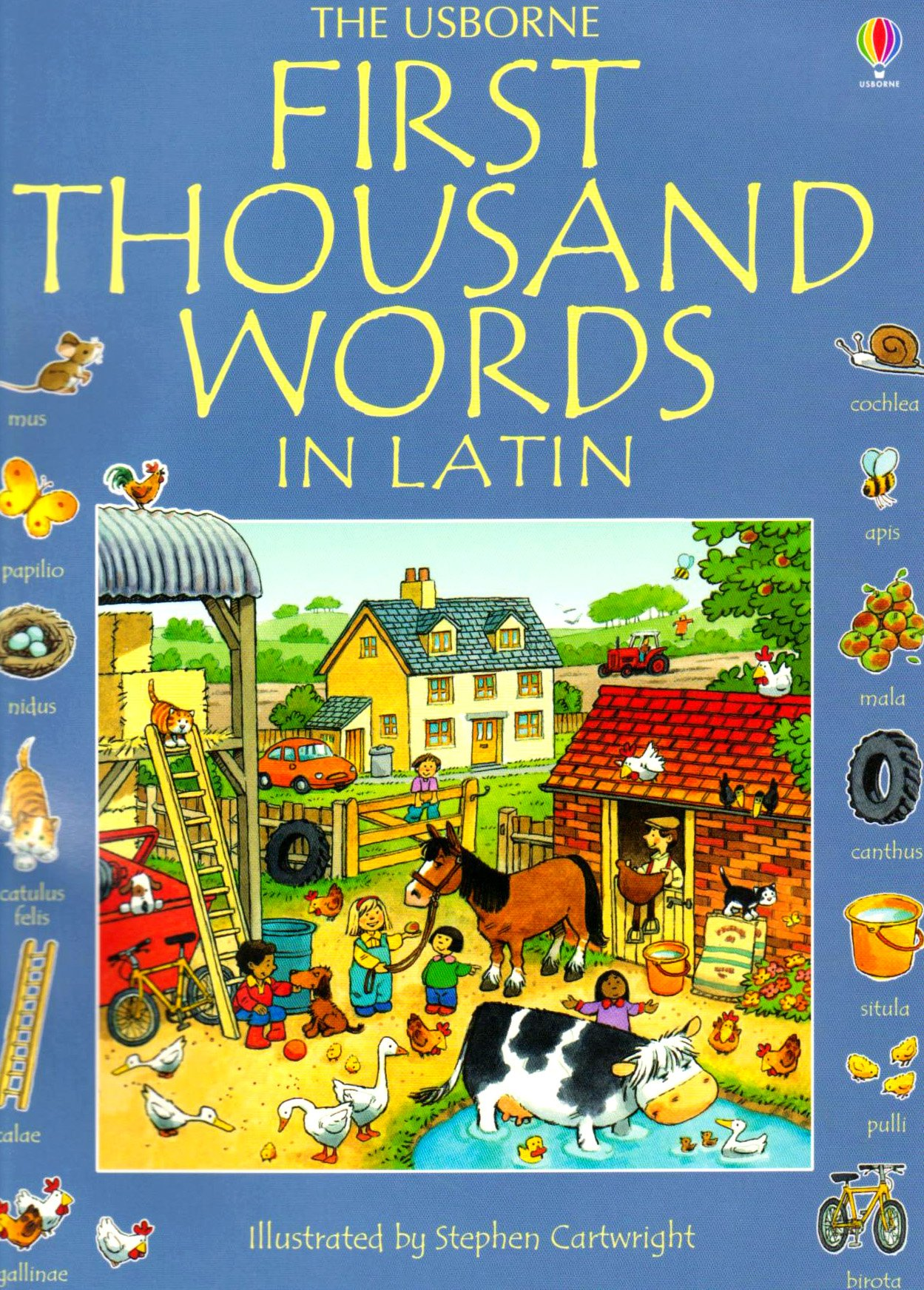 First Thousand Words in Latin (Usborne First Thousand Words)