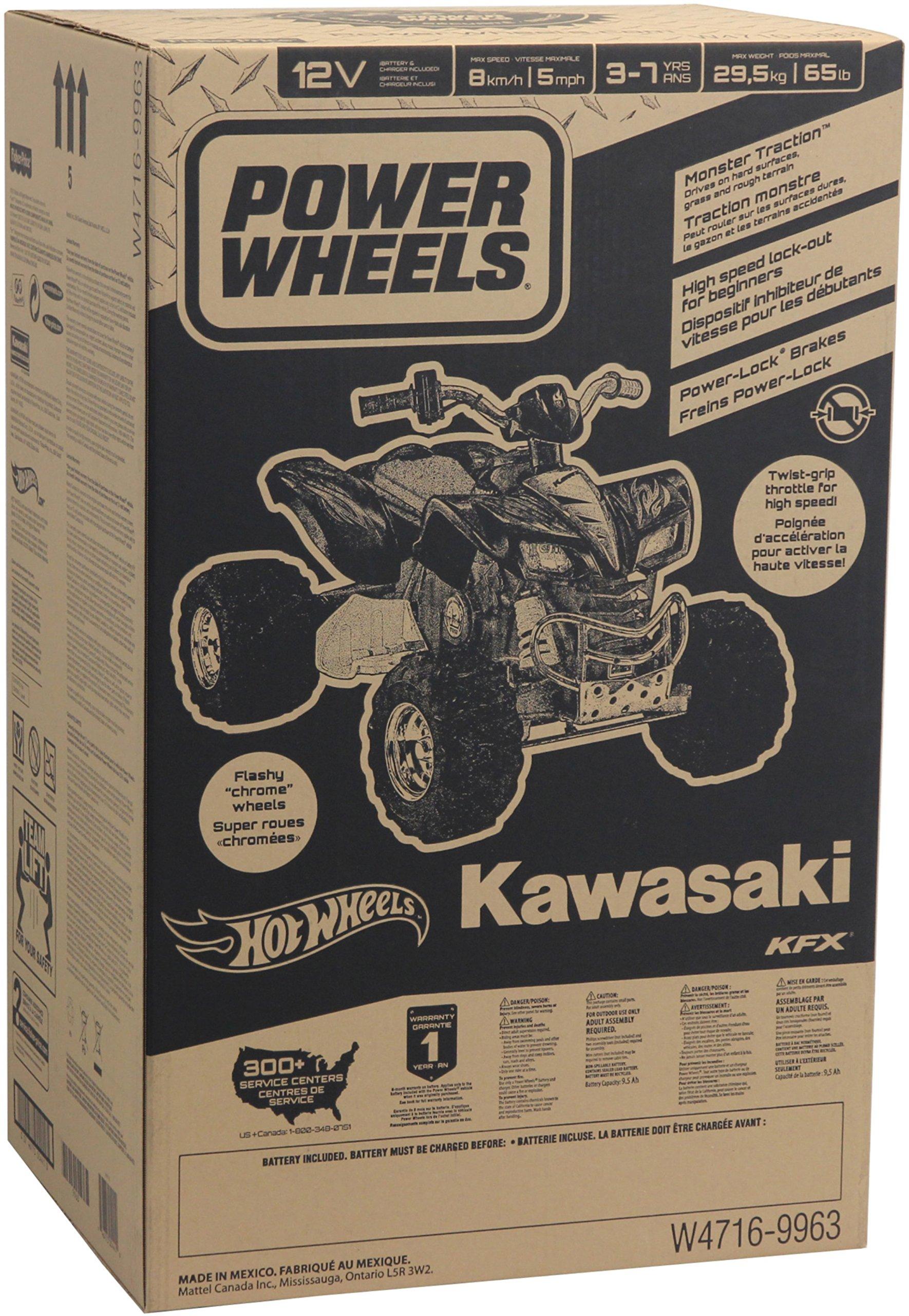 Power Wheels Hot Wheels Kawasaki KFX by Fisher-Price (Image #5)