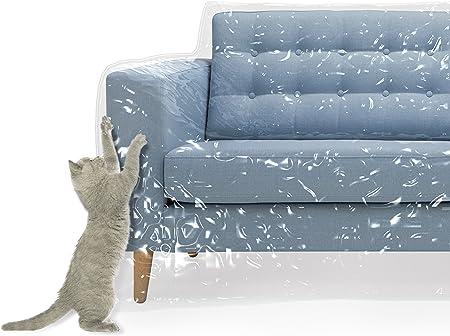 Amazon.com: Funda de plástico para sofá de mascotas ...