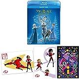 【早期購入特典あり】アナと雪の女王/家族の思い出 ブルーレイ+DVDセット (早期購入特典:暑中お見舞いハガキ3枚セット付き) [Blu-ray]