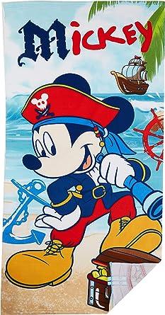 Mickey Serviette de Plage Garçon VERT
