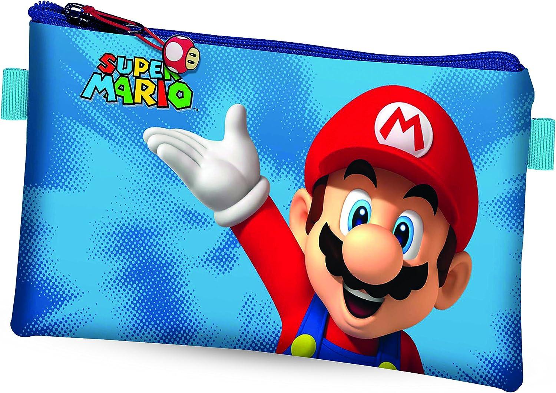 Super Mario Estuche Escolar: Amazon.es: Juguetes y juegos