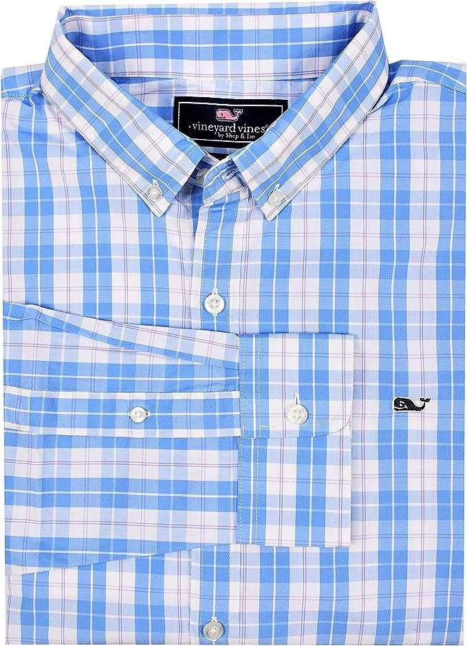 Vineyard Vines Camisa de Vestir de Ballena con Botones para Hombre - Multi Color - X-Small: Amazon.es: Ropa y accesorios