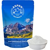 Food Grade Diatomaceous Earth Powder - 3 Lb bag For Human & Pet Use. Effective Multipurpose Powder for Internal and External Organic Use or With Duster Applicator. Aspen Naturals Brand