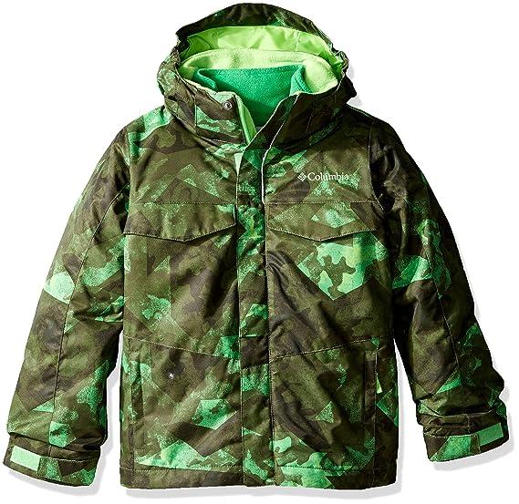 d24b67ff3 Columbia Boys Bugaboo Interchange Jacket, X-Large, Green Mamba Camo