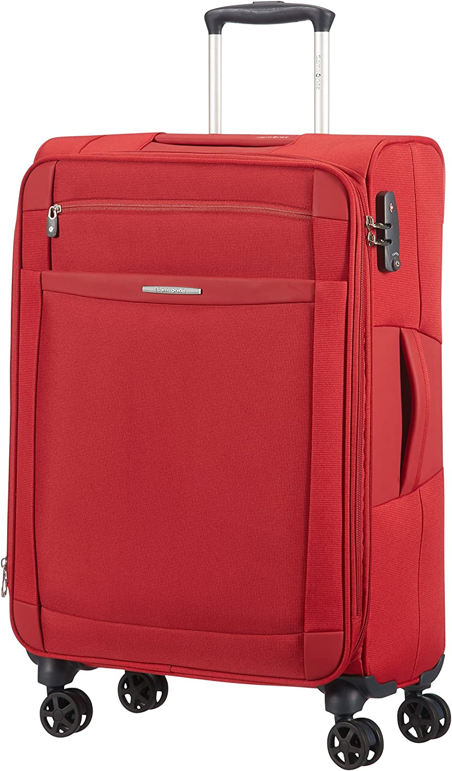 Samsonite Dynamo Spinner 67/24 Maleta, 67 cm, 66 L, Color Rojo