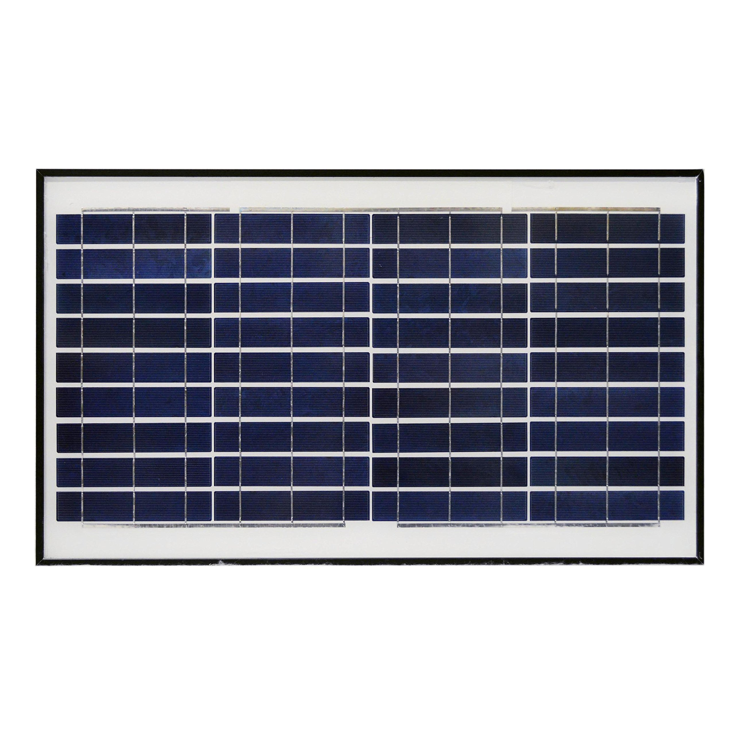 ALEKO SP30W12VP 30 Watt 12 Volt Polycrystalline Solar Panel for Gate Opener Pool Garden Driveway