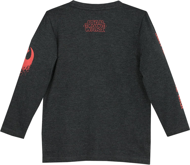 BB8 Gar/çon T-Shirt /à Manches Longues Star Wars