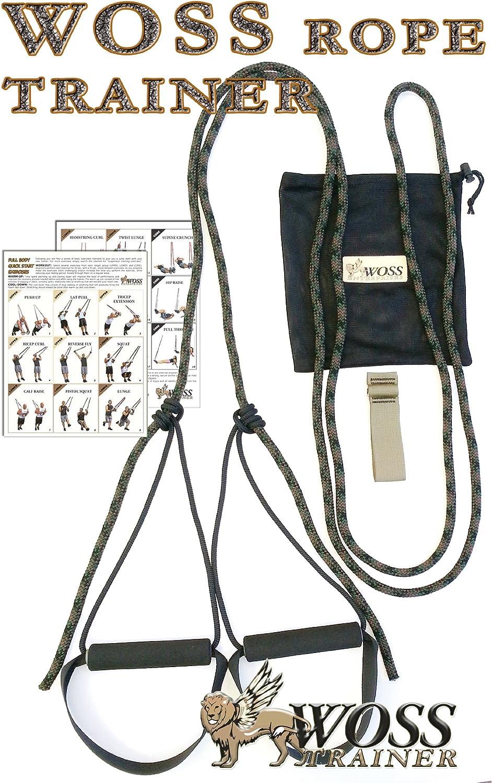 WOSS cuerda Trainer, Sistema de suspensión fabricado en Estados Unidos