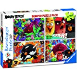 Ravensburger Italy 06862 3 - Puzzle in Cartone Bumper Pack Angry Birds 4 da 100 Pezzi