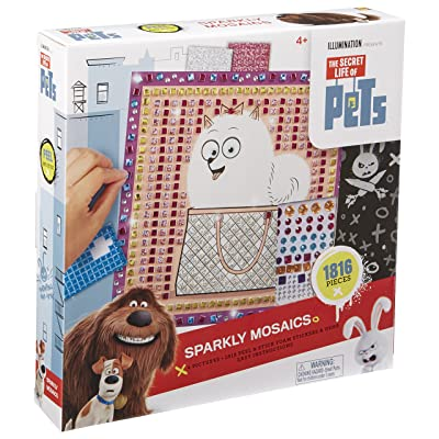 The Secret Life of Pets Sparkly Mosaics: Toys & Games