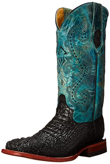 b6140f151ae Ferrini Women's Print Caiman BT Western Boot
