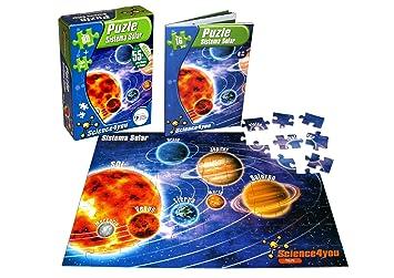 Sistema Science4you Con 80 SolarLibroPuzzle Piezas501 T1JclFK