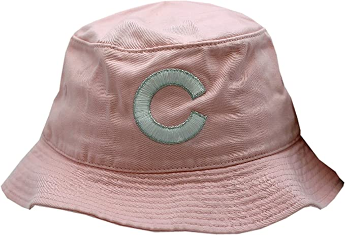 be825c07786 Chicago Cubs Bucket Hat Pink White Silver C Logo S M at Amazon ...