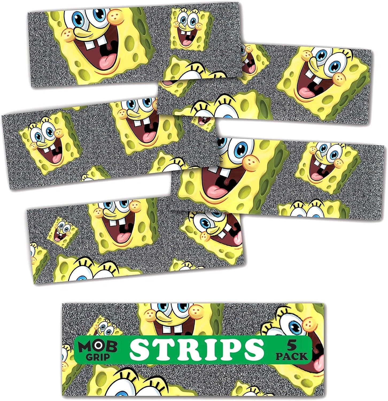 SANTA CRUZ Spongebob Squarepant Head Grip Kids Skateboard Griptape