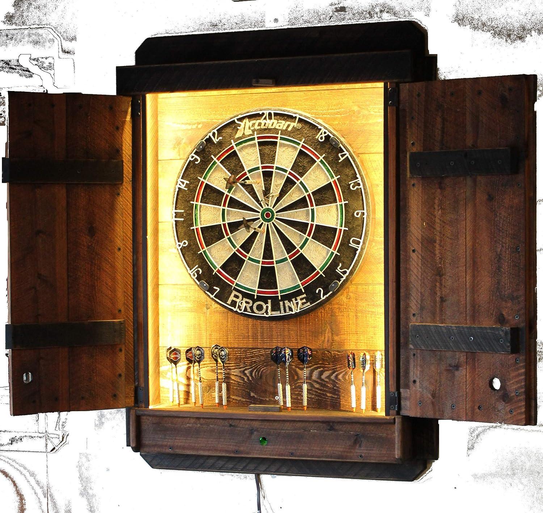 Amazon Com Dartboard Cabinet Light Led Darts Board Throw Line