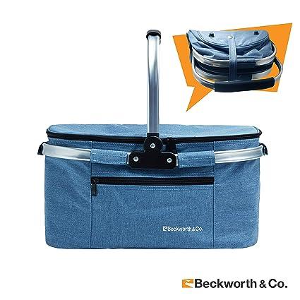 Amazon.com: Canasta para Picnic SmartFold de marca Beckworth ...