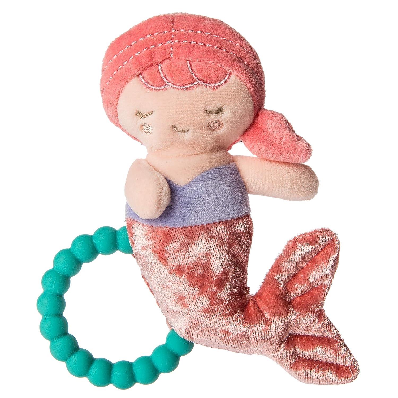 Mary Meyer Teether Baby Rattle, 6-Inches, Marina Mermaid