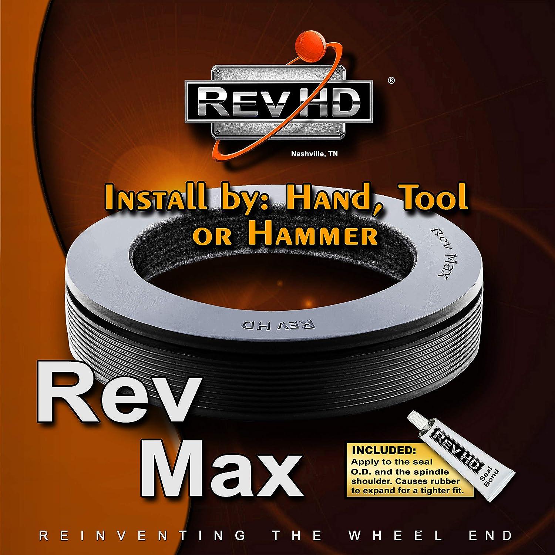 Fits: 393-0204, 380031A, 42673 RM-D06 Rev Max Drive Seal Mack