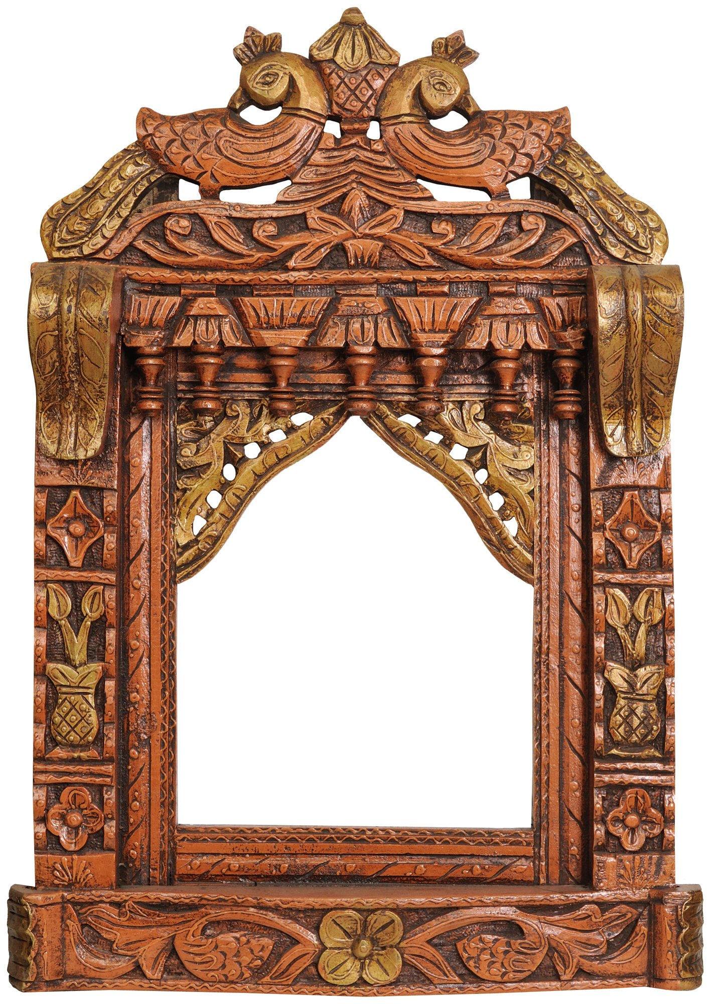 Exotic India ZBZ13 Jharokha (Decorative Window)