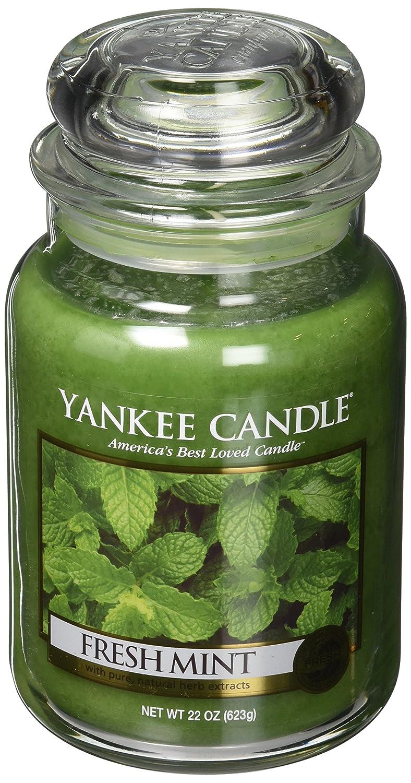 100%の保証 Yankee Candle Candleフレッシュミント Large Jar Candle グリーン 1081855Z Large Jar Jar Jar Candle B000W3T9GQ, 激安家具 ソファのU-LIFE:634bbf48 --- a0267596.xsph.ru