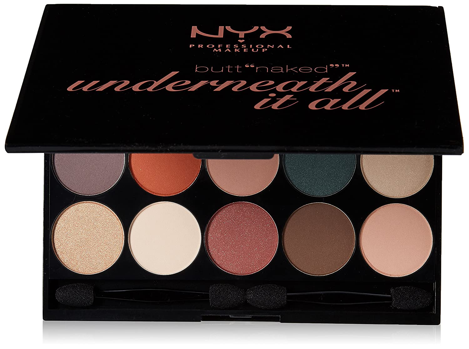 Amazon.com : NYX PROFESSIONAL MAKEUP Butt Naked Underneath It All Palette, 1.23 Ounce : Beauty