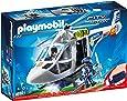 Playmobil - 6921 - Hélicoptère Policier + Projecteur