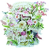 Paper D'Art 3D On Your Wedding Day Pop Up Greeting Card