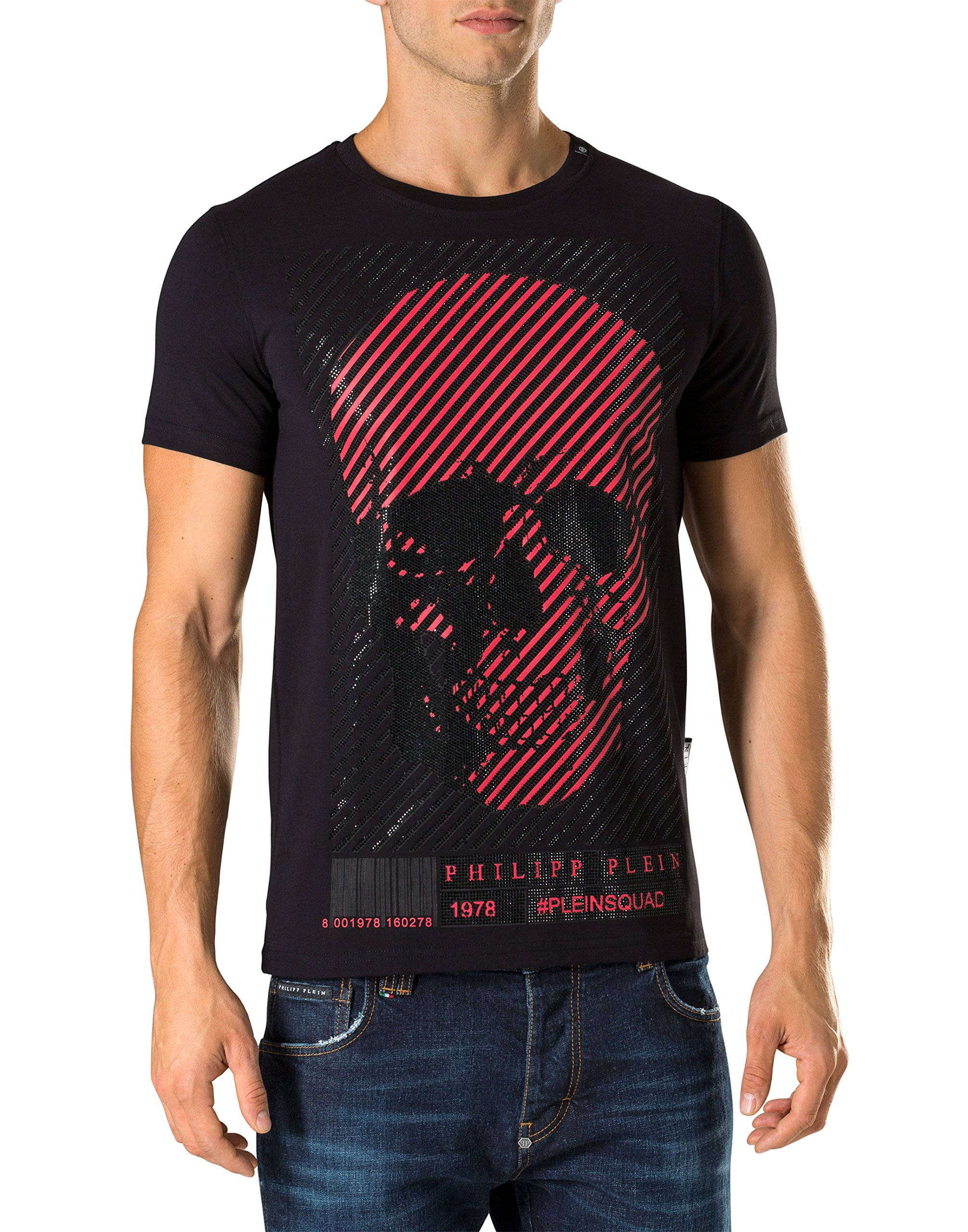 PHILIPP PLEIN Men's T-shirt Bad - black, M by Philipp Plein