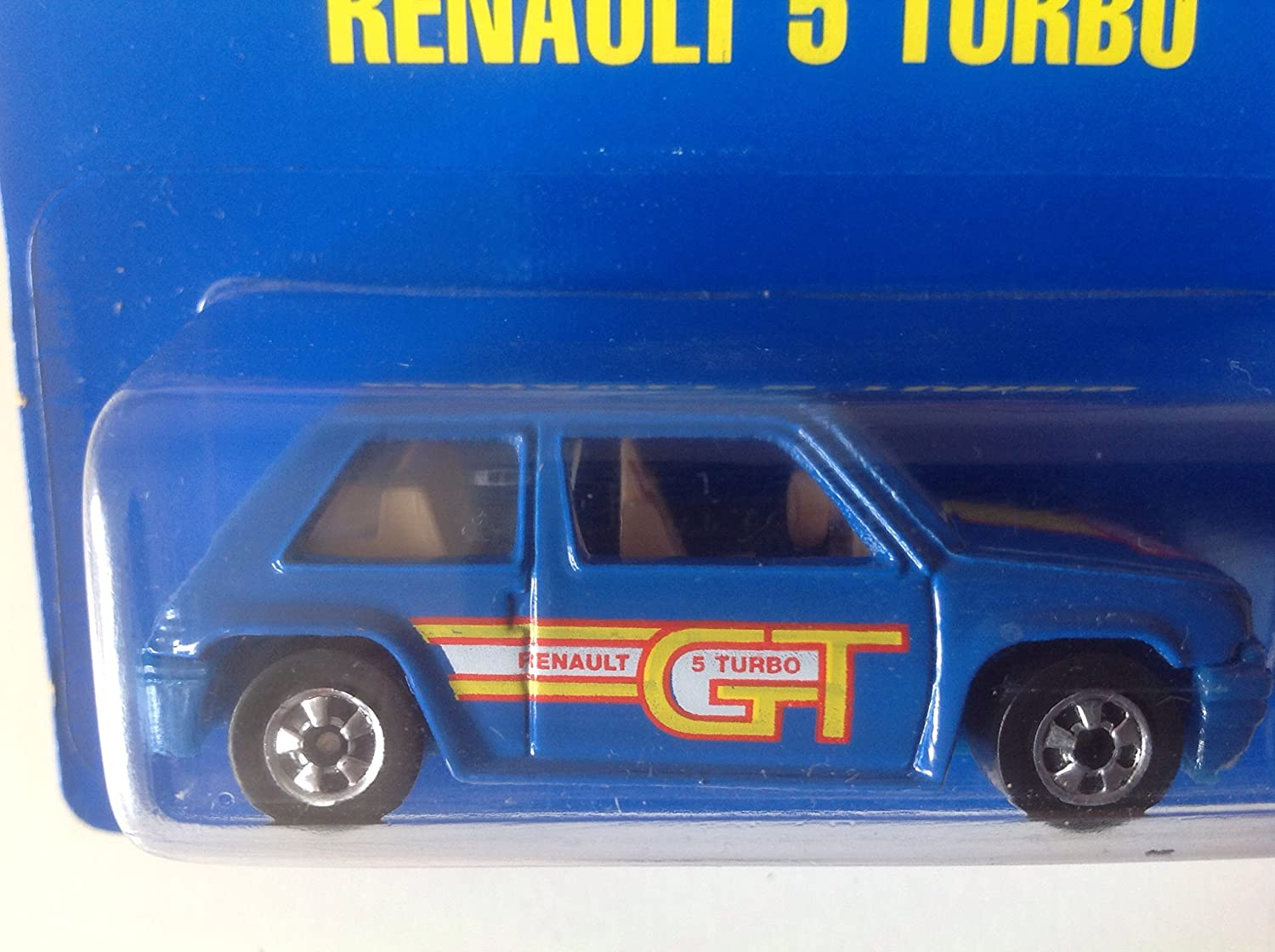 Amazon.com: Hot Wheels Renault 5 Turbo Blue #9749 Euro Card: Everything Else