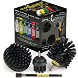BBQ Accessories - Grill Accessories - Grill Brush Cleaning Kit with Extension - Electric Smoker - Gas Grill - Drill Brush - G