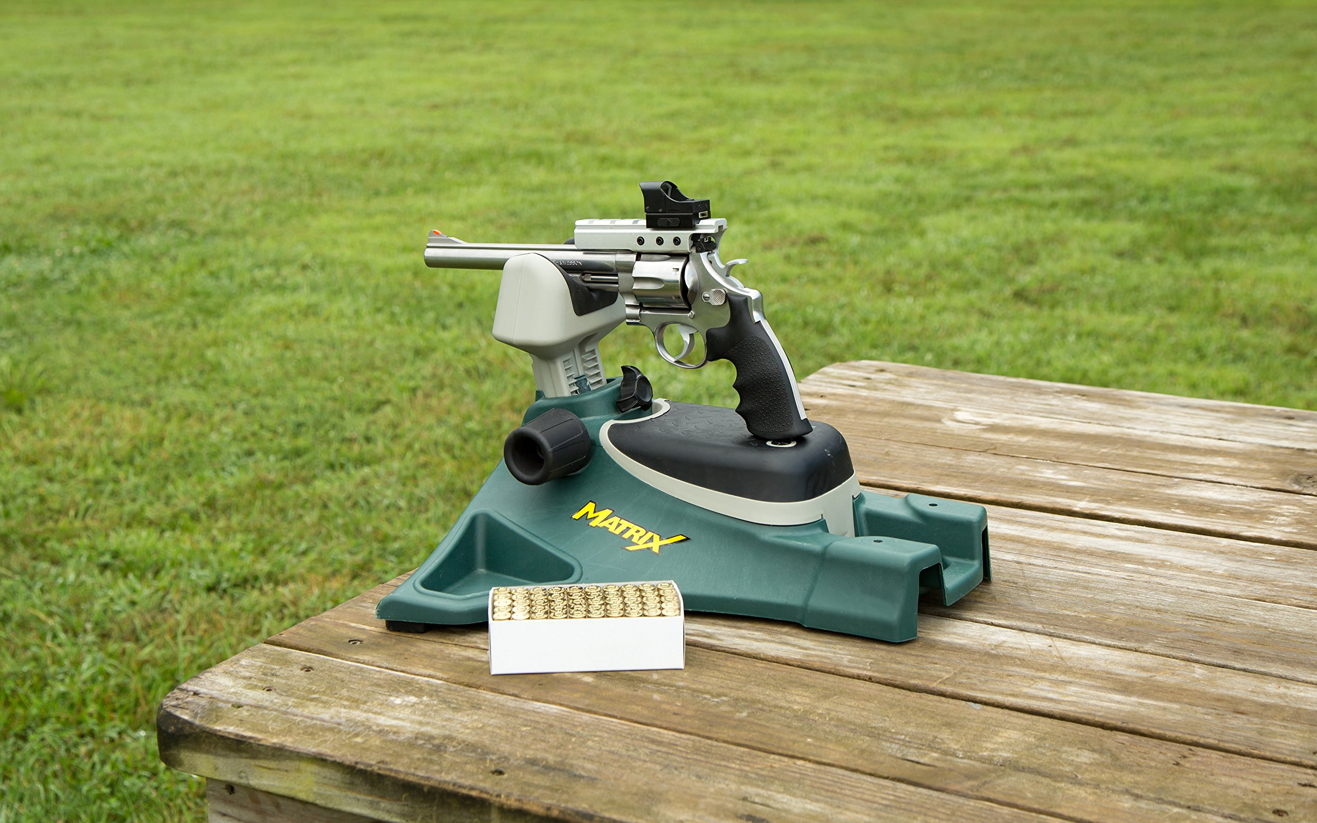Caldwell Matrix Adjustable Ambidextrous Rifle Pistol Handgun Shooting Rest for Outdoor Range by Caldwell (Image #5)