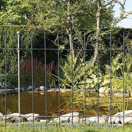 Reja protectora para estanque forjado L. 118 x H. 90 cm 10120 ...