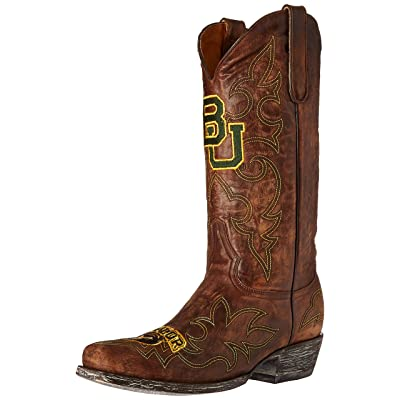 NCAA Baylor Bears Men's Gameday Boots: Sports & Outdoors