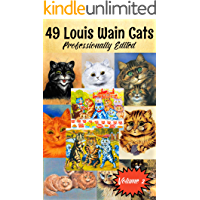 49 Louis Wain Cat Art Prints Volume 2: Professionally Edited Cat Artwork
