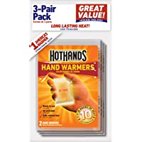 3-Pair HotHands Hand Warmers (6 warmers)