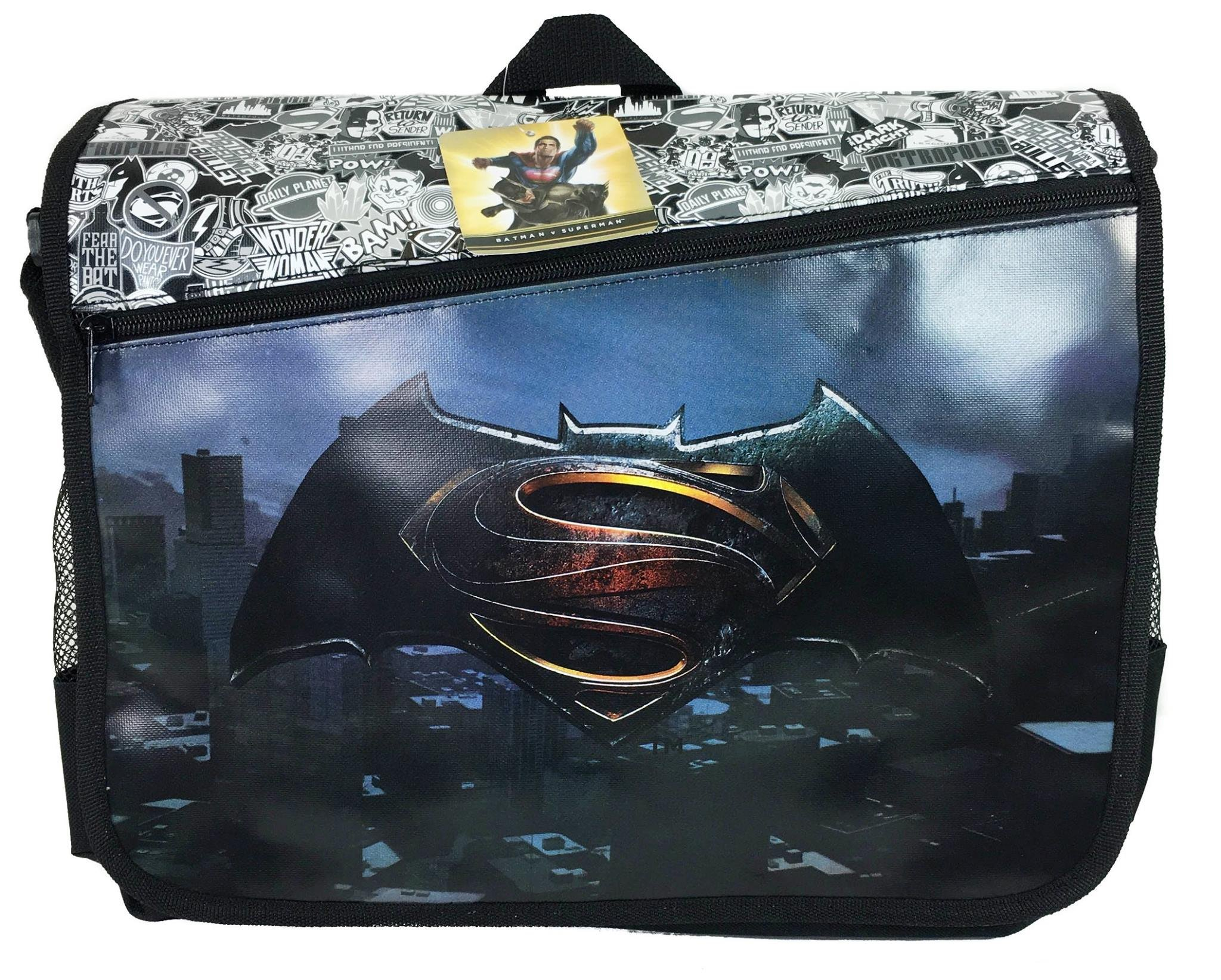 Batman vs Superman Black Duffle Bag/gym Bag/travel Bag by FreeShipping
