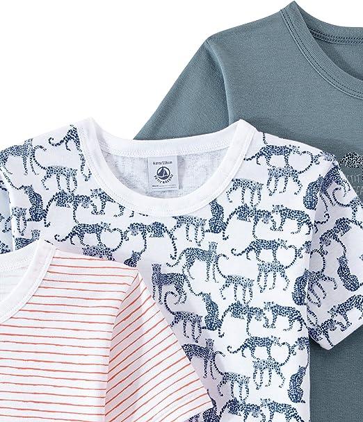 Petit Bateau Boys 2 Pack Undershirts Sizes 2-14 Style 24284-24285