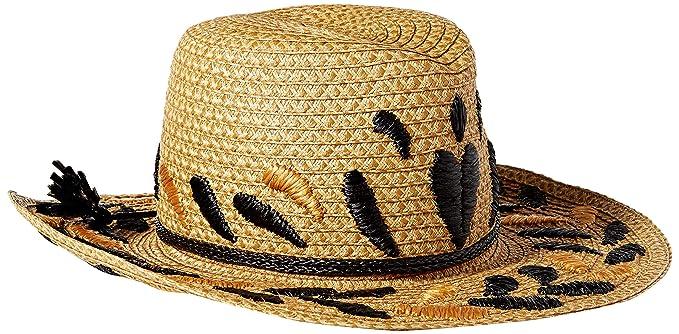 477c8fad1b2 Eric Javits Luxury Fashion Designer Women s Headwear Hat - Corsica (Natural  Black)