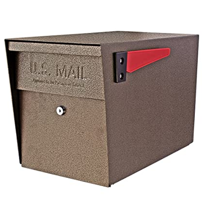 Residential mailboxes side view Wall Mounted Mail Boss 7108 Package Master Curbside Ultimate Locking Security Mailbox 1114 In Amazoncom Amazoncom Mail Boss 7108 Package Master Curbside Ultimate Locking