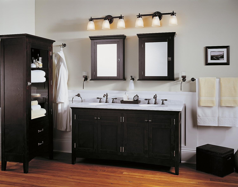 Delta Faucet Victorian Widespread Bathroom Faucet 3 Hole, Bronze Bathroom Faucet, Diamond Seal Technology, Metal Drain Assembly, Venetian Bronze 3555-RBMPU-DST - -