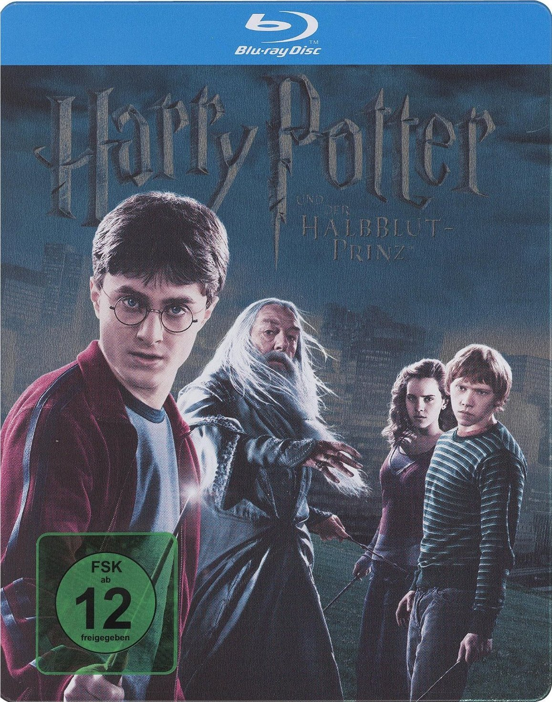 Amazon Com Harry Potter Half Blood Prince Blu Ray Steelbook German Import Region Free Movies Tv