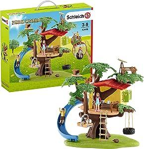Schleich 42408 Adventure Tree House Playset