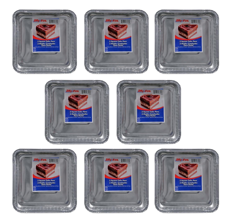 Amazon.com: Set of 24 Jiffy Foil Disposable Aluminum 8