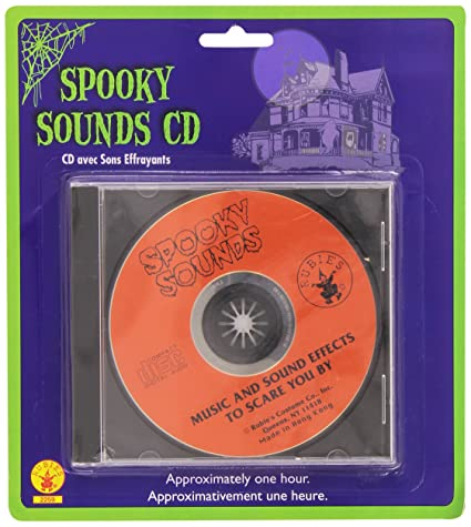 rubies 2259 haunted home spooky sounds cd