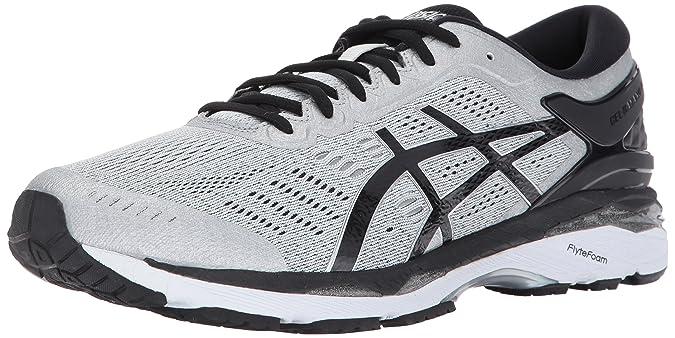 10af1c55ce5 Amazon.com | ASICS Men's Gel-Kayano 24, 11M, Silver/Black/Mid Grey | Road  Running