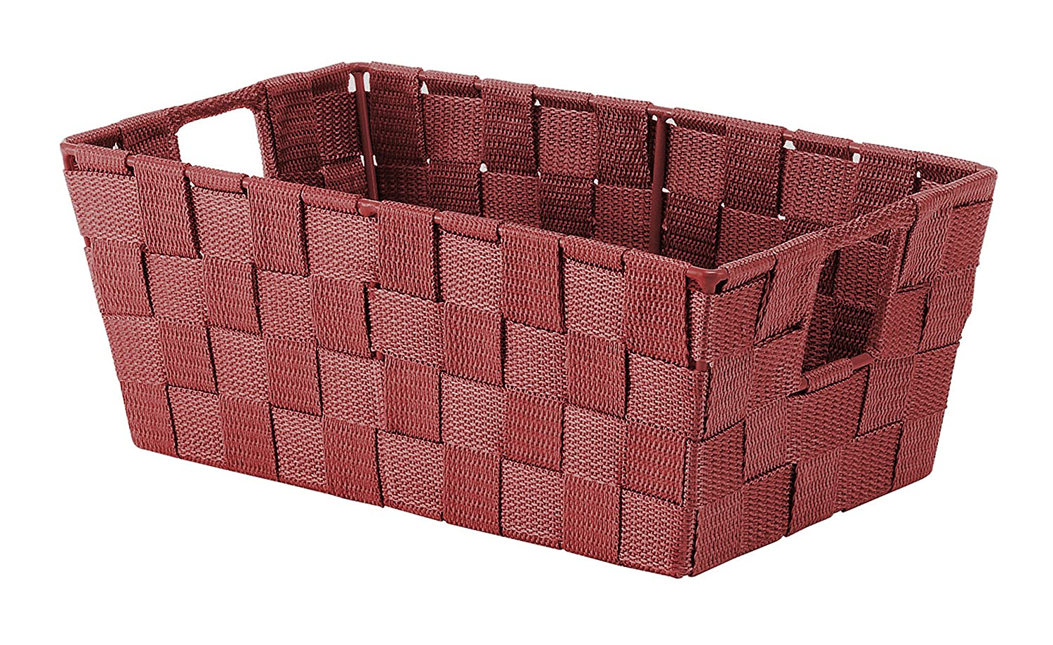 Whitmor Woven Strap Small Shelf Tote Berry Blue 6581-2712-BRYBL