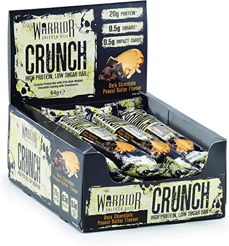 Warrior HIGH Protein Bars 20g Protein Each
